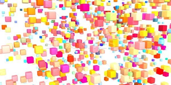 Technológia kreatív üzlet bank lánc szoftver Stock fotó © kentoh