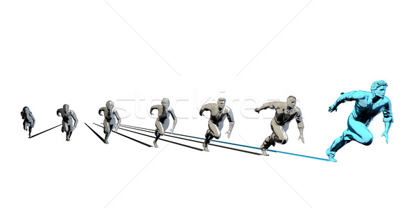 Well Coordinated Team Stock photo © kentoh