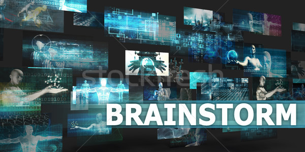 презентация технологий аннотация искусства бизнеса Сток-фото © kentoh