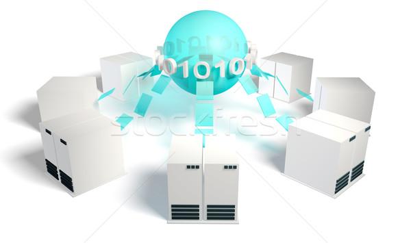 Crowdsourcing Stock photo © kentoh