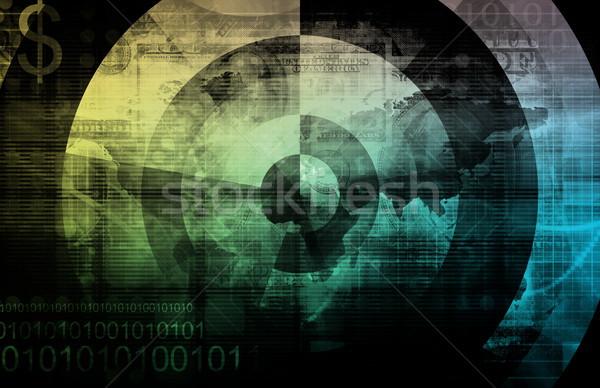 бизнеса интеграция модель фон информации инженерных Сток-фото © kentoh