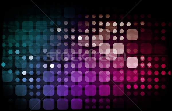 Business communicatie tech kunst internet netwerk Stockfoto © kentoh