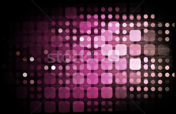 Datos negocios fondo empresa gestión Foto stock © kentoh