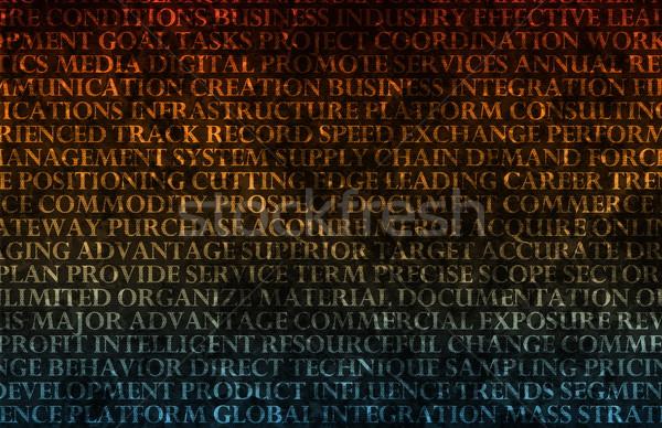 Presentation Background Stock photo © kentoh