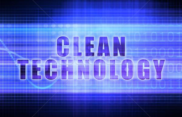 Clean Technology Stock photo © kentoh