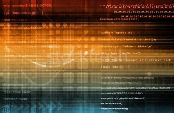 открытых источник технологий бизнеса фон Сток-фото © kentoh