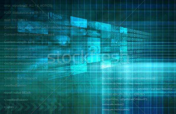 Concorrente indústria análise mercado pesquisa dados Foto stock © kentoh