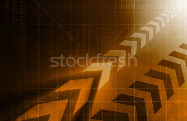 промышленности Тенденции бизнеса интернет аннотация технологий Сток-фото © kentoh