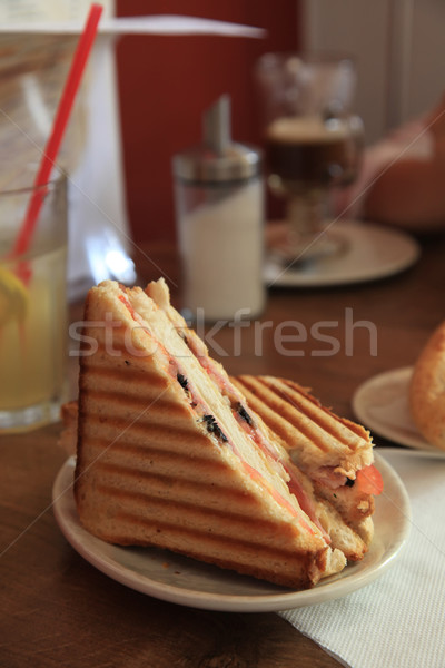 Grilled Sandwich Stock photo © kentoh
