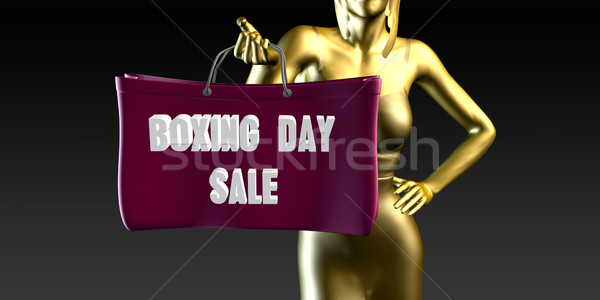 Boxing Day Sale Stock photo © kentoh