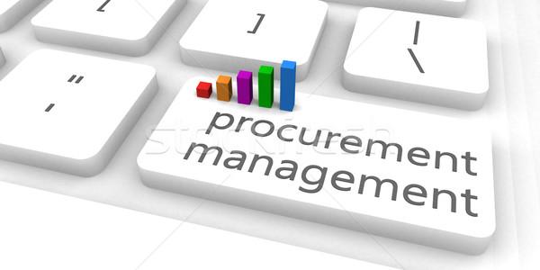 Procurement Management Stock photo © kentoh