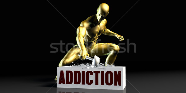 Addiction Stock photo © kentoh