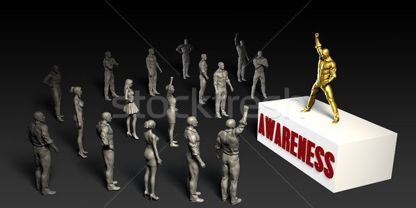Awareness Stock photo © kentoh