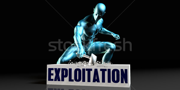 Get Rid of  Exploitation Stock photo © kentoh