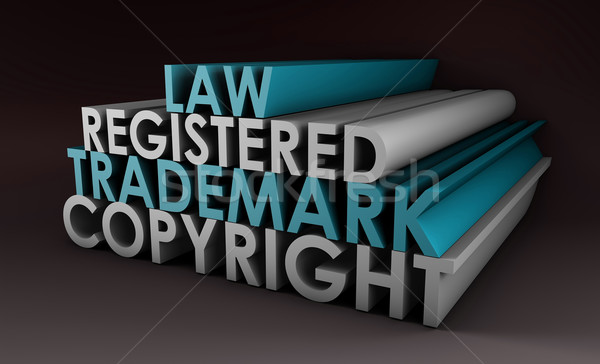 Registered and Copyright Trademark Stock photo © kentoh