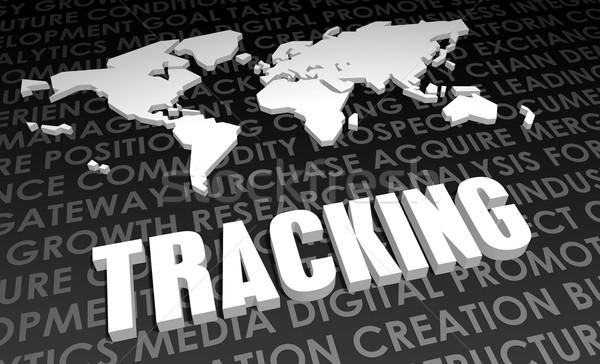 Tracking Stock photo © kentoh