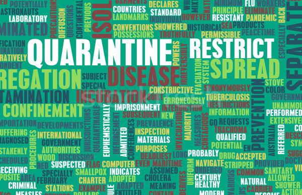 Quarantine Stock photo © kentoh