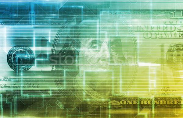 электронной коммерции электронных торговли концепция Сток-фото © kentoh