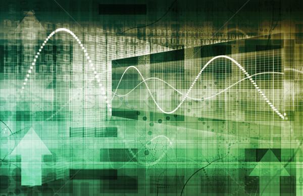 Digital soluciones empresarial negocios arte Internet Foto stock © kentoh