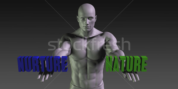 Nature vs Nurture Stock photo © kentoh