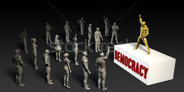 Democracy Stock photo © kentoh