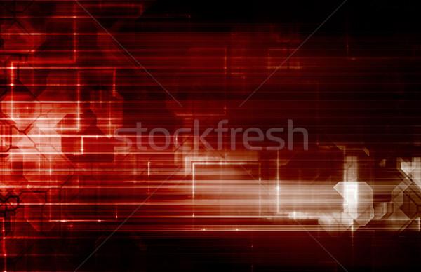 генетика технологий исследований науки искусства фон Сток-фото © kentoh