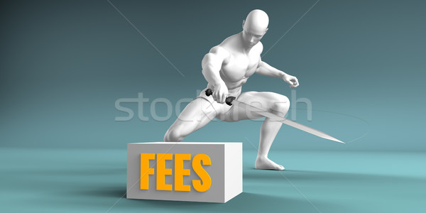 Cutting Fees Stock photo © kentoh