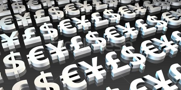 Forex obcy wymiany inwestycja handlowy działalności Zdjęcia stock © kentoh