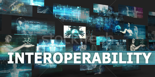 Interoperability Stock photo © kentoh