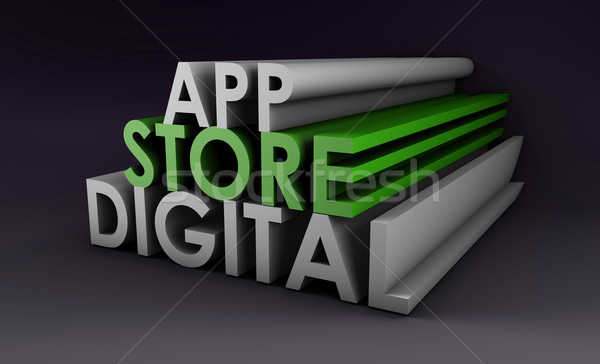 Application Store Stock photo © kentoh