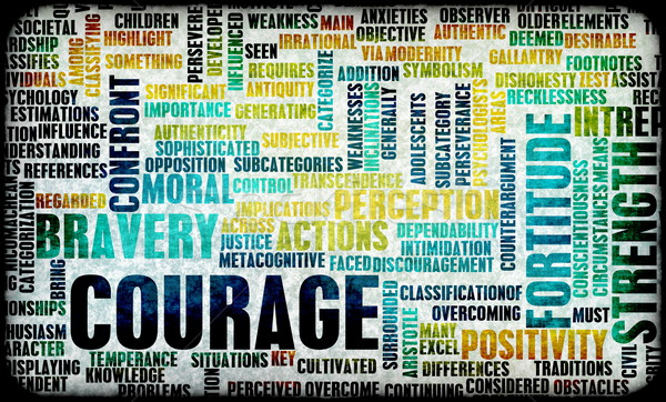 Courage Stock photo © kentoh