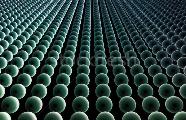 Veri ağ hızlı hareketli bilgisayar ışık Stok fotoğraf © kentoh