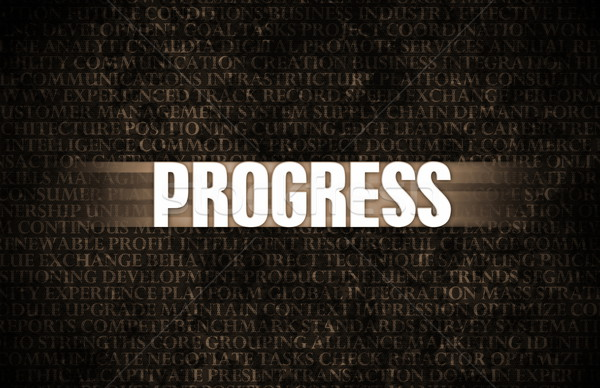 Progress Stock photo © kentoh