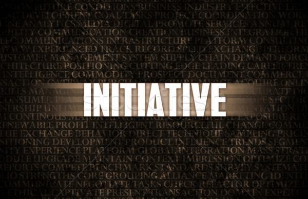 Initiative Stock photo © kentoh