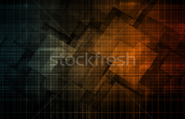 Mechanical Engineering Stock photo © kentoh