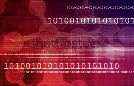 Genetic Code Stock photo © kentoh