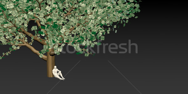 Yatırım tasarruf roi finansal bankacılık para Stok fotoğraf © kentoh