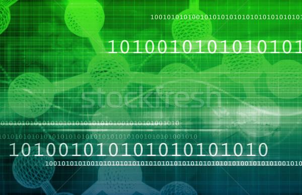 Egészségügy hálózat orvosi csoport üzlet művészet Stock fotó © kentoh