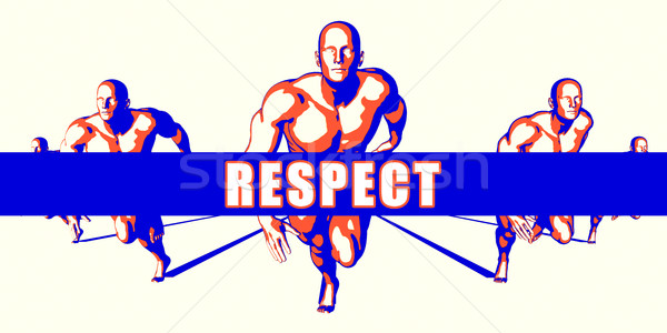 Respect Stock photo © kentoh