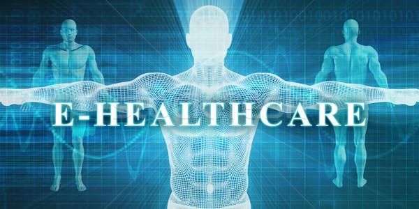 Tıbbi uzmanlık alan bölüm adam vücut Stok fotoğraf © kentoh