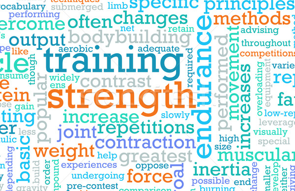 Strength Training Stock photo © kentoh