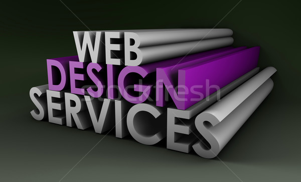 Stock photo: Web Design Services