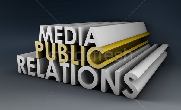 Public Relations Stock photo © kentoh