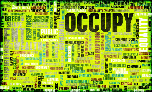 Occupy Movement Stock photo © kentoh