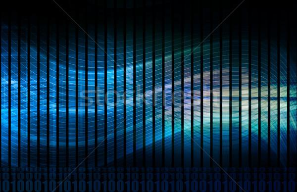 Foto stock: Complexo · algoritmo · encontrar · padrões · dados · internet