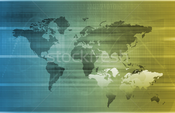 Global Business Stock photo © kentoh
