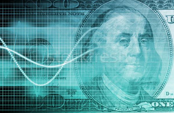Business groei abstract presentatie kunst financieren Stockfoto © kentoh