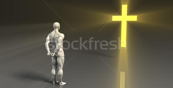 Religious Counseling Stock photo © kentoh