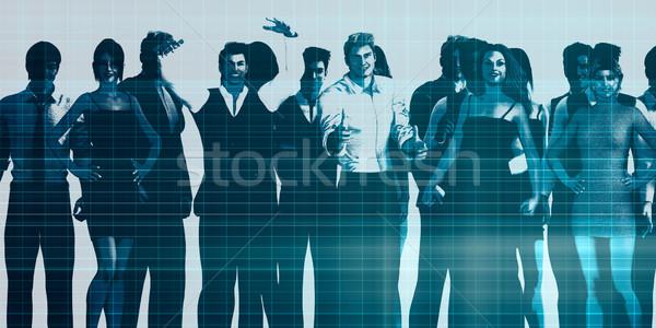 Motivated Workforce Stock photo © kentoh