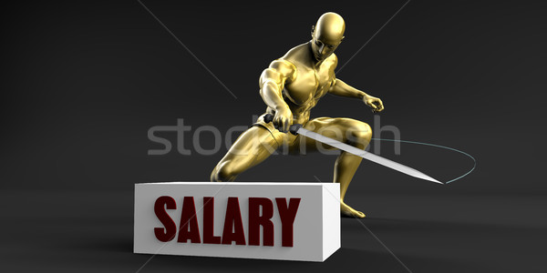 Reduce Salary Stock photo © kentoh